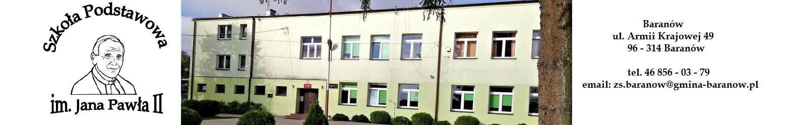 Szkoła Podstawowa im. Jana Pawła II w Baranowie